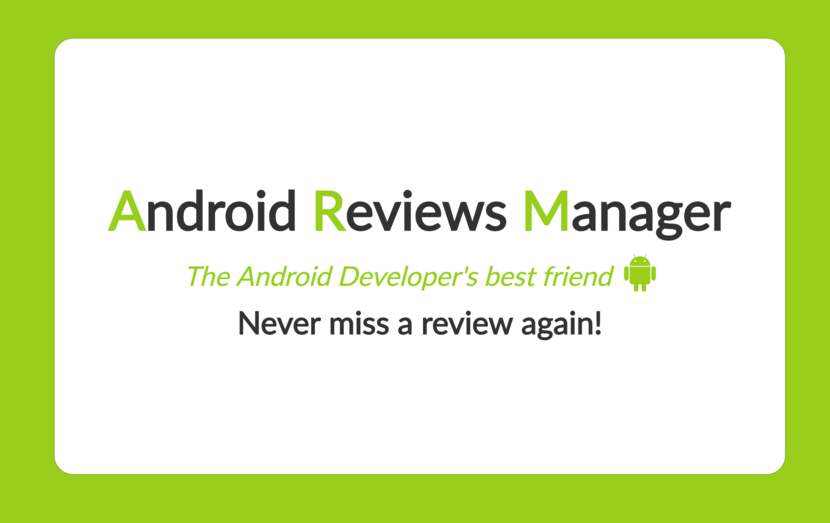 Android Reviews Manager